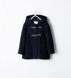THREE QUARTER LENGTH COAT WITH TOGGLES