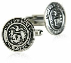 US Air Force Cufflinks Silver USAF With Gift Box Cuff-Daddy. $29.99. Proudly MADE IN THE USA. Made by Cuff-Daddy. Arrives in hard-sided, presentation box suitable for gifting.. Save 57%!