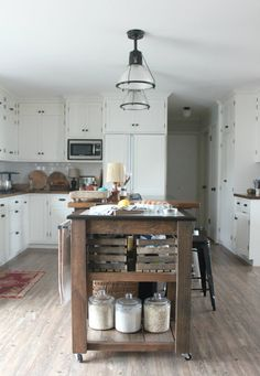 The coolest kitchen. From the Living With Kids Home Tour featuring Kat Hertzler