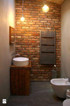 lico cegły z XIX wieku - zdjęcie od www.starecegly.com - Łazienka - Styl Rustykalny - www.starecegly.com