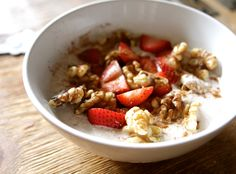 """COCONUT NO-OATMEAL RECIPE FOOD AS MEDICINE: This grain free """"oatmeal"""" uses shredded coconut instead of oats, making it a great low-carb alternative to traditional oatmeal that is equally satiating …"""