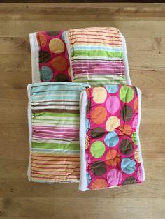 Cloth Diaper Burp Cloth Set