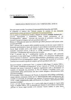 Studio Legale Buonomo - Diritto Previdenziale ed Assistenziale: Ennesimo provvedimento sulla ininfluenza delle spu...