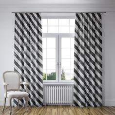 "Wildon Home  Mellina Curtain Panels Color: Black, Size: 112"" W x 80"" L"
