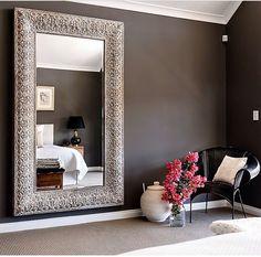 Big mirror decor