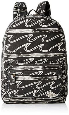 Listed Price: $44.95 Sale Price: $37.76 Printed washed canvas backpack. Size 18.5 x 12 x 6.5... Read more...