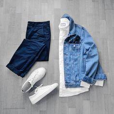 Essentials by dimitris_kolonas Fashion Mode, Daily Fashion, Fashion Outfits, Fashion Trends, Paris Fashion, Runway Fashion, Girl Fashion, Womens Fashion, Color Combinations For Clothes