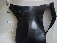 MARc POS inner tube rubber bag by artikultcat on Etsy. €45,00 EUR, via Etsy.