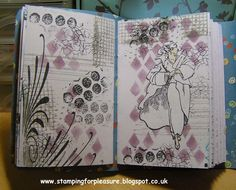 Stamping For Pleasure: Art Journals