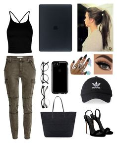 """Untitled #7"" by tori-l-i on Polyvore featuring Giuseppe Zanotti, Boohoo, Chico's, adidas and Speck"