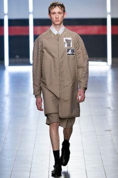 Спортивное мужское пальто Damir Doma