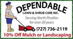 10% off services!