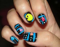 Easy Cool Nail for Short Nails #EasyCoolNailforShortNails http://naildesignsite.com/cool-nail-designs/