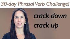 PHRASAL VERB CRACK