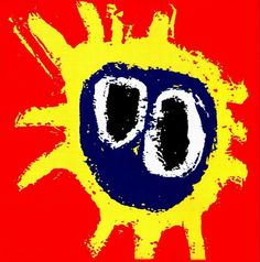 Primal Scream - Screamadelica The album cover for Screamadelica was painted by Creation Records' in-house artist Paul Cannell, who died in Famous Album Covers, Greatest Album Covers, Classic Album Covers, Lp Cover, Cover Art, Lps, Pop Art, Musik Illustration, Mazzy Star