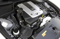 Read about the 2008 Infiniti Coupe and its all new liter engine. 2008 Infiniti G37, Tuner Cars, Japanese Cars, Race Cars, Engineering, Street, Asian, Cutaway, Drag Race Cars