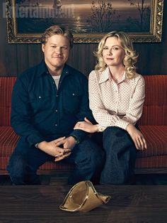 "Fargo season 2 | Here are two new photos that give you a better idea of the new characters populating FX's acclaimed anthology drama, which rolls back the clock this fall to 1979. Above is beautician Peggy Blumquist (Kirsten Dunst) and her devoted butchers assistant husband Ed (Jesse Plemons). On the surface, they're the ""normal"" ones—until Peggy gets them pulled into a gangland war."