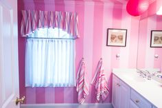 Girls Bedroom Colors, Valance Curtains, Bathrooms, Colorful, Shower, Stylish, Prints, Home Decor, Rain Shower Heads