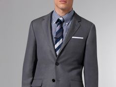 The Ultimate Gray Linen & Wool Suit 1