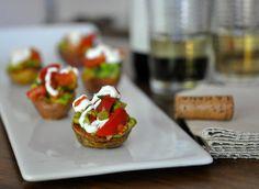 Red Potatoes With Tomato-Avocado Salsa