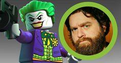Zach Galifianakis Is the Joker in 'Lego Batman Movie' -- Zach Galifianakis is in talks to voice The Joker opposite Will Arnett's Batman in Warner Bros' 'The Lego Batman Movie'. -- http://movieweb.com/lego-batman-movie-joker-zach-galifianakis/