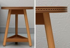 Brogue Side Table | Products | G by Bethan Gray - amazing workmanship!