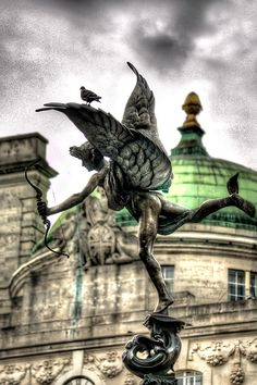 Anteros & 'friends', Piccadilly Circus, London.