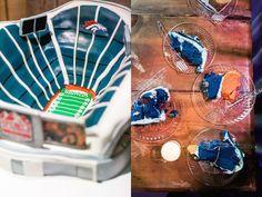 #Broncos #GroomsCake by Signature Cakes by Vicki #Nashville #Wedding @mintspringsfarm blue orange