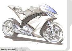 Motorcycles and Sketches by Renato Bondioli at Coroflot.com