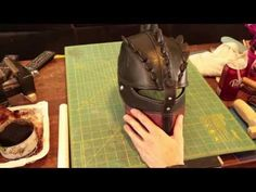 HTTYD2 How to make Hiccup's Helmet Part 2 Finished - YouTube