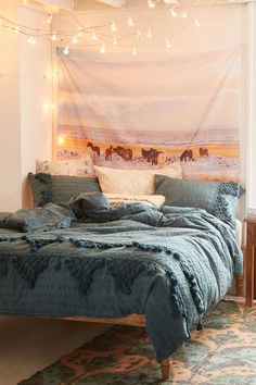 Snow Horses Tapestry - Urban Outfitters