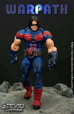 Warpath (Marvel Legends) Custom Action Figure