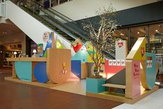6   An Info Kiosk That Doubles As A Pastel-Hued Playground   Co.Design: business + innovation + design