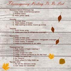 ThanksgivingHostingToDoList