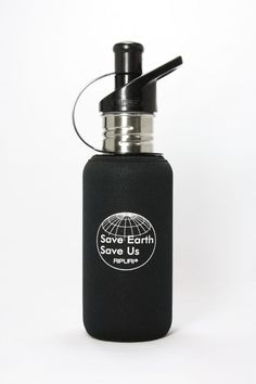 RIPURI Classic 18-Ounce Water Bottle with Carbon Block filter, Silk Logo #RIPURI