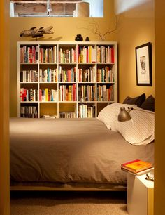 Simple and Cozy Bedroom + Library Roomarks
