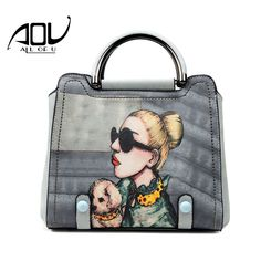 Luxury women fashion handbags famous brand pu leather crossbody bag high quality print tote bags for lady's bolsas sac a main. Yesterday's price: US $42.47 (36.48 EUR). Today's price: US $16.99 (13.92 EUR). Discount: 60%.