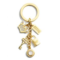 The Crown Multi Mix Key Ring from Coach