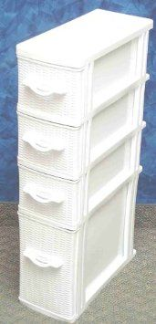 Superbe Amazon.com: Wicker Laundry Organizer Between Washer Dryer Drawers: Home U0026  Kitchen