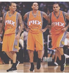 """This is a picture of Chris Brown playing basketball. I choose this picture because of two reasons. The first being because I love Chris Brown. Chris Brown is my all time favorite artist and person in the whole world. I am obsessed with him. The second reason is because I love basketball players. I like basketball players because they are usually athletic, fit, tall, and black. This is perfect for me because I have the worst case of """"Jungle Fever""""."""