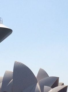 The Sydney Opera House had company from Cunard.