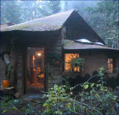 Minor Family Home Dallas, Oregon - cob and wood