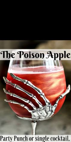The Poison apple Cocktail with apple pucker and Crown royal apple will liven your Halloween festivities. A Beautiful and wickedly Iridescent fall Cocktail. Halloween Party Drinks, Halloween Celebration, Halloween Snacks, Halloween Alcoholic Drinks, Alcoholic Desserts, Halloween Bebes, Halloween Film, Halloween Shots, Halloween Festival