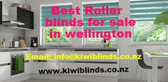 #Kiwiblinds facilitates best quality #rollerblindsforsaleWellington at affordable cost. It is family owned business that prides them on the exceptional service they give to their customers. Also it ensures that your blinds are measured and fitted perfectly.