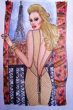 Weekend in Paris by SEWFashion.deviantart.com on @deviantART