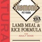 Diamond Naturals Dry Food for Adult Dogs, Lamb and Rice Formula, 40 Pound Bag