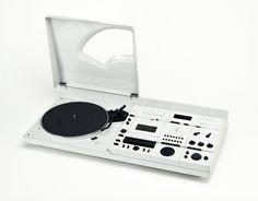 Hartmut Esslinger, Wega Concept 51 K, Radio, record player  cassette recorder, 1978. #recordplayer #turntable #music #records http://www.pinterest.com/TheHitman14/the-record-player-%2B/