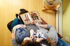 Karina knows the importance of reading with her kids each and every day
