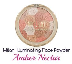 Milani Illuminating Face Powder In Amber Nectar – Review, Pictures & Swatches