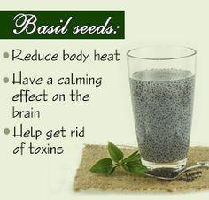 15 Health Benefits of Basil Seeds